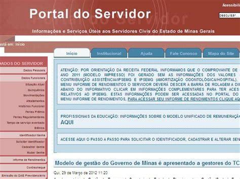 portal do servidor minas gerais site portal do servidor mg www portaldoservidor mg gov br