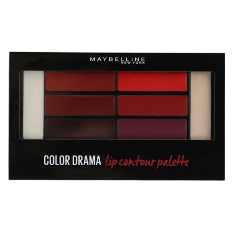 Lipstick Palette Maybelline maybelline color drama lip contour palette 4 gr 01 crimson vixen u