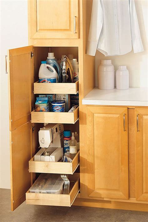 cabinet roll out shelves our pantry cabinet with adjustable roll out shelves allows you to store and find items