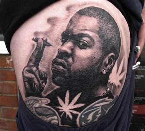 ice cube tattoo cube fan photo the hollyweird times