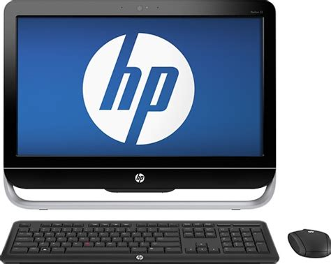 Best Buy Desk Top Computers Hp Pavilion 23 Quot All In One Computer 4gb Memory 1tb Drive 23 1014 Best Buy