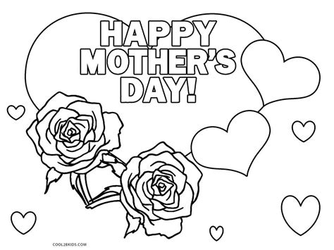 Free Printable Mothers Day Coloring Pages For Kids Free Printable Day Coloring Pages