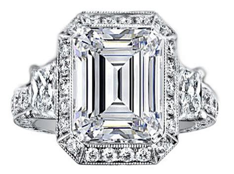 trapezoids engagement rings from mdc diamonds nyc