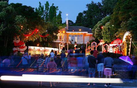 the boulevard christmas lights display illuminates outer