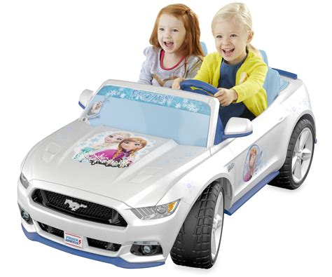 frozen mustang amazon com fisher price power wheels disney frozen smart
