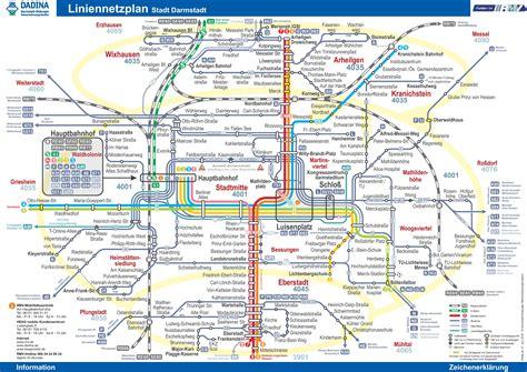 transport map darmstadt transport map