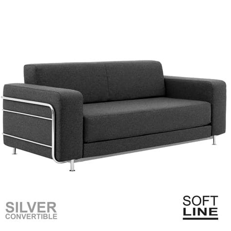 divani letto piccoli spazi silver un divano letto per 2 softline