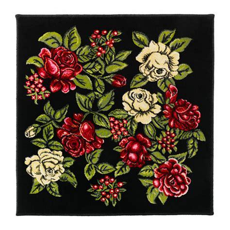 ikea floral rug ikea ryssby 2014 bohemian retro rug area throw mat low pile floral multi