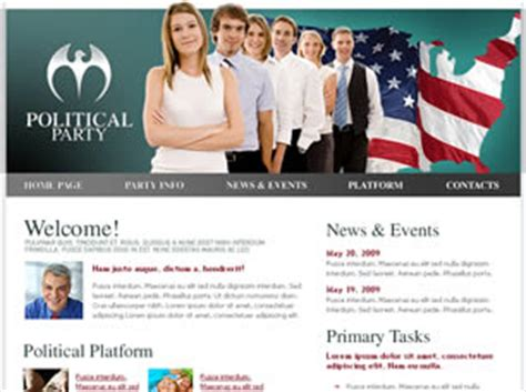 free templates for government website free government website templates 10 free css