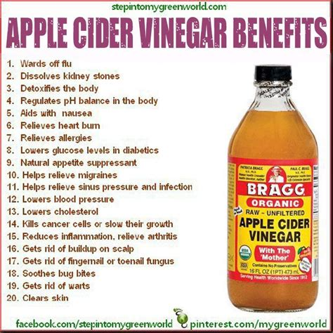 Benefit Of Apple Cider Vinegar Detox by Apple Cider Vinegar Benefits Diet