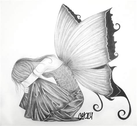 dibujos realistas tumblr dibujos a l 225 piz hadas dibujos a lapiz mariposas