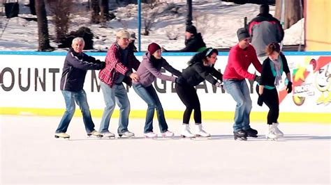 happy ice skating and dancing youtube