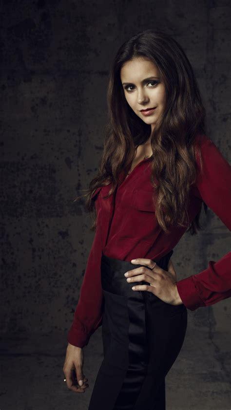 actress nina dobrev wallpaper