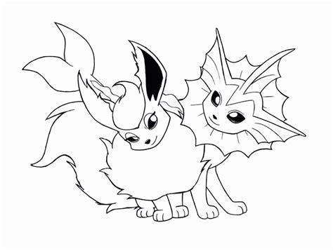 pokemon coloring pages flareon pokemon flareon coloring pages coloring home