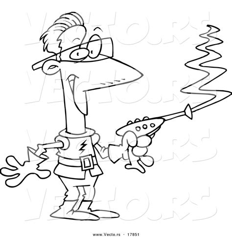 laser gun coloring page gun clipart coloring page pencil and in color gun