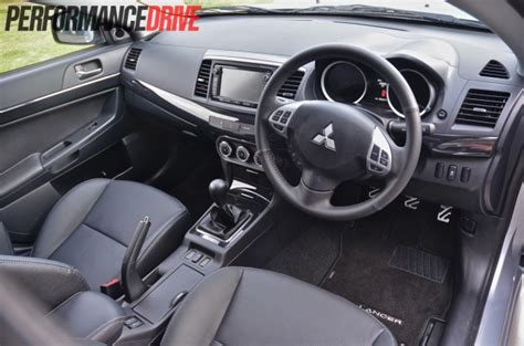 2014 Mitsubishi Lancer Vrx Review Performancedrive