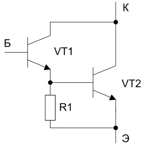 transistor darlington circuit transistors 101 question about 2 transistor darlington configuration diyaudio