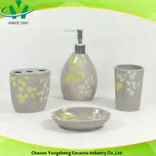 Grey And Yellow Bathroom Accessories Promotional Yellow And Grey Bathroom Accessories Buy Yellow And Grey Bathroom Accessories