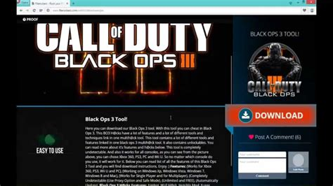 tutorial hack ps4 black ops 3 hack tool all consoles new youtube