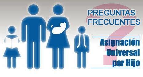 asignaciones familiares preguntas frecuentes 10 preguntas frecuentes sobre la asignaci 243 n universal por hijo