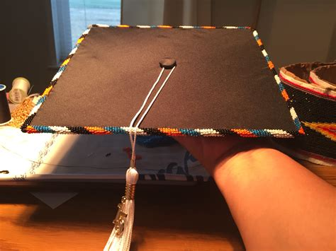 beaded graduation caps s beaded graduation cap beadwork by sissy