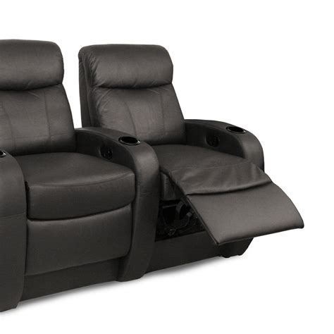 recline rows seatcraft rialto back row leather home theater seating