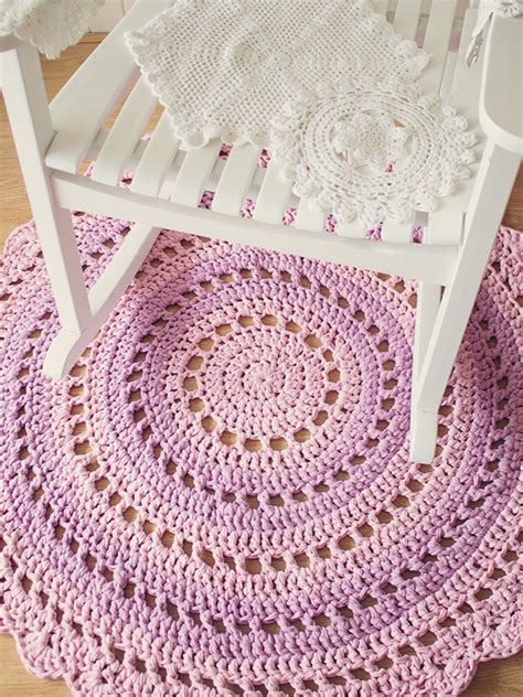 crocheted rug patterns crochet doily rug maker crate