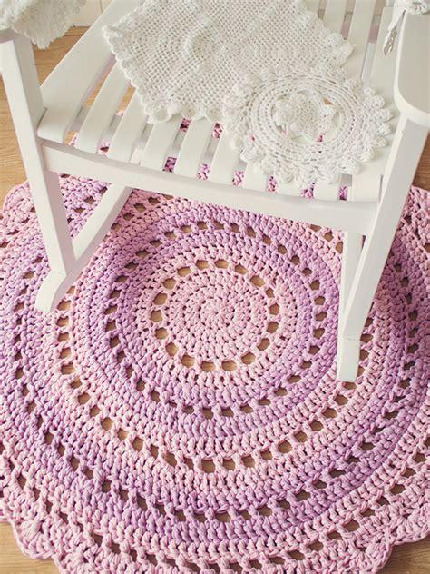 how to crochet rug crochet a gorgeous mandala floor rug