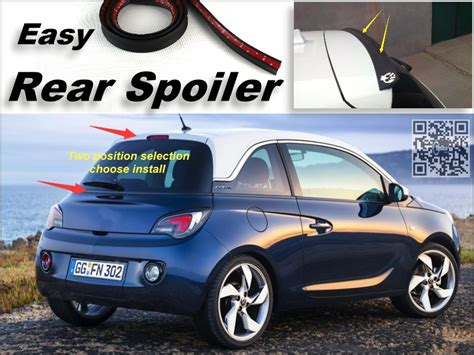 opel adam trunk rear spoiler opel adam chinaprices net