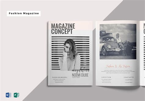 publisher magazine template free fabulous fashion magazine template in word publisher