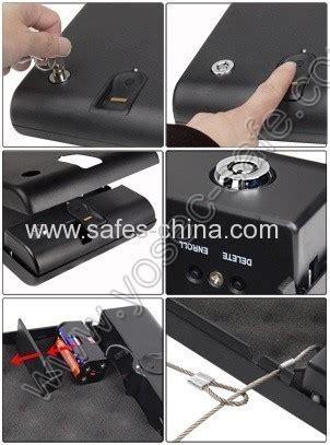gunvault g 50f portable fingerprint quick access pistol