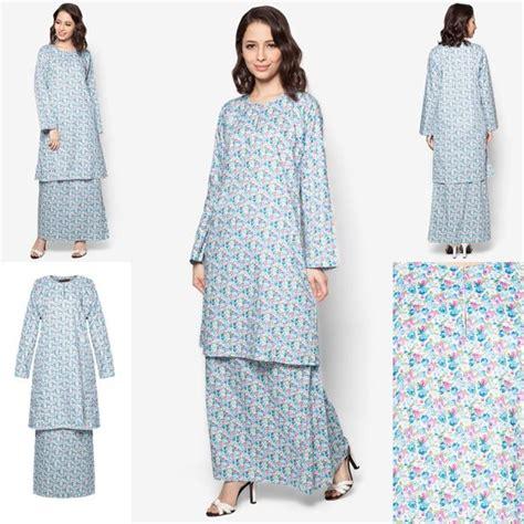 Baju Melayu Moden Warna baju kurung cotton warna blue pink baju raya 2016 fesyen trend terkini see
