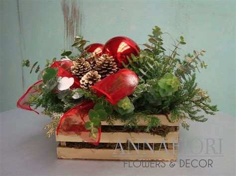 arreglos florales navide241os resultado de imagen para centros de mesas navide 241 os economicos decor