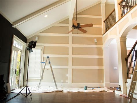 tips  painting  great room hgtv