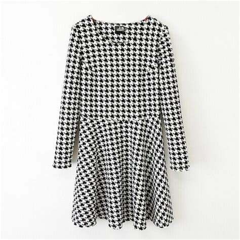 Houndstooth Pattern Clothes | houndstooth pattern dress