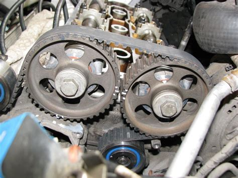 how to replace tensioner pulley 1995 alfa romeo 164 service manual remove a tensioner for a