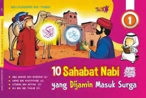 Sahabat Baru Naira Soft Cover Oleh Ristee 10 sahabat nabi yang dijamin masuk surga 1 zamzam