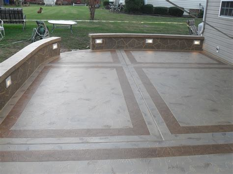 Design Concrete Patio Cement Patio Designs Unique Concrete Design Llp Concrete Masonry Greenville Sc