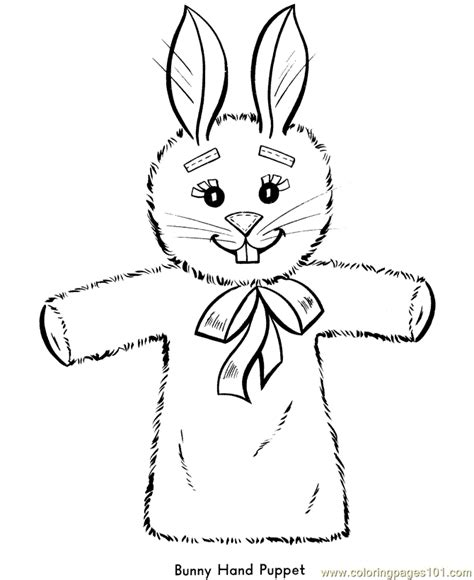Puppet Coloring Pages puppet coloring pages coloring home