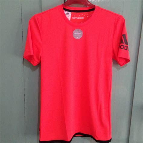 Kaos Adidas Kaos Pria Kaos Adidas Merah jual adidas unctl climachill merah size s kaos