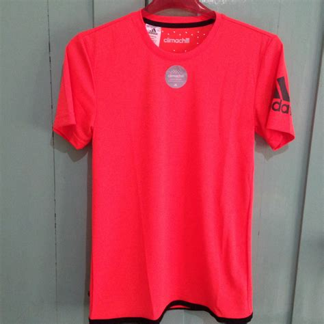 Kaos Running Import 3 jual adidas unctl climachill merah size s kaos olahraga running sportsite