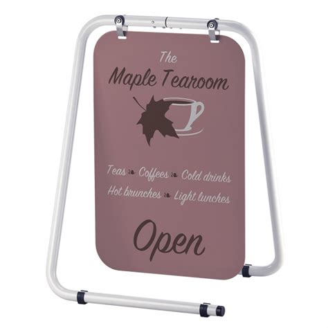 pavement swing signs folding swing sign swing signs for shops pavement signage