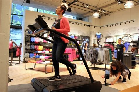 running shoe store seattle testing run analysis technology at nike s re designed