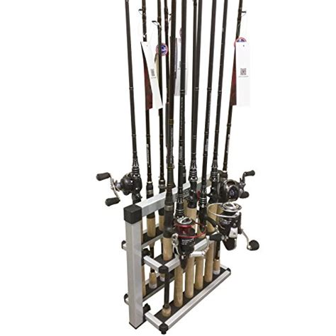 Fishing Rod Racks For Boats by Kastking Rack Em Up Fishing Rods Holder Portable Aluminum