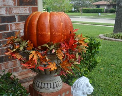 How To Decorate Pot At Home fall decor