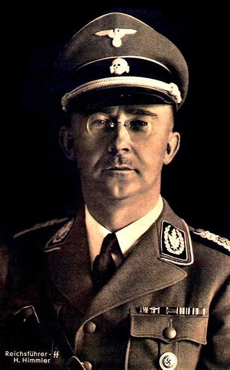 heinrich himmler the sinister of the of the ss and gestapo books what person in history do you loathe