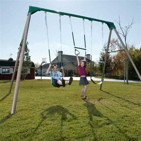 industrial swing set heavy duty commercial quality swing set sale today