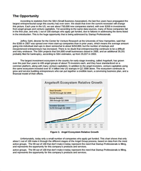 8 Software Business Plan Templates Sle Templates Business Growth Plan Template