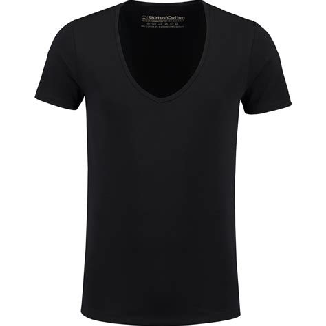 T Shirts zwart diep v hals t shirts shirtsofcotton t shirts