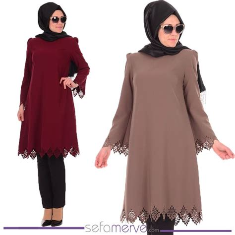 Mello Tunik by Laser Tunic 0100 Sefamerve Islamicclothing